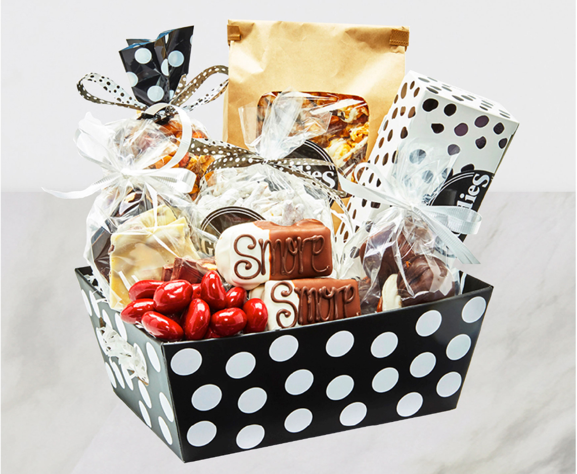 Unique Custom Candy Gift Baskets